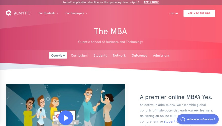 Quantic school of business and technology