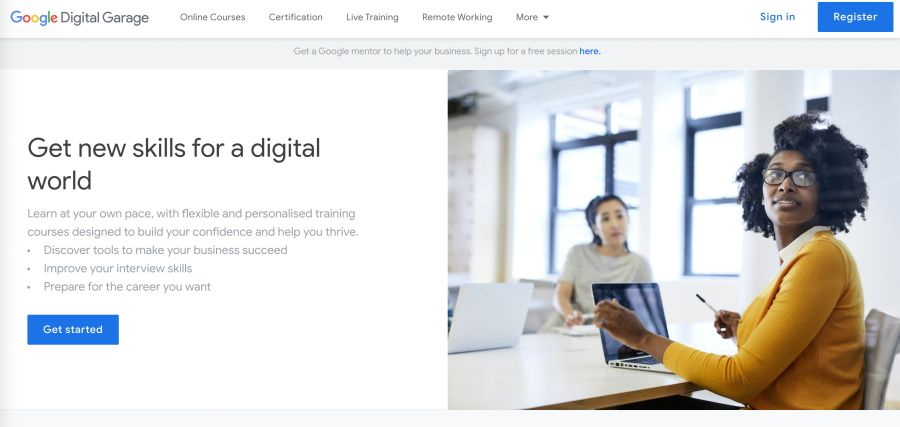 free digital marketing course with printable certificate