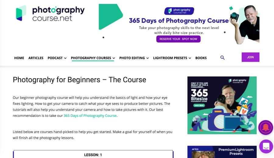 Photograpycourse