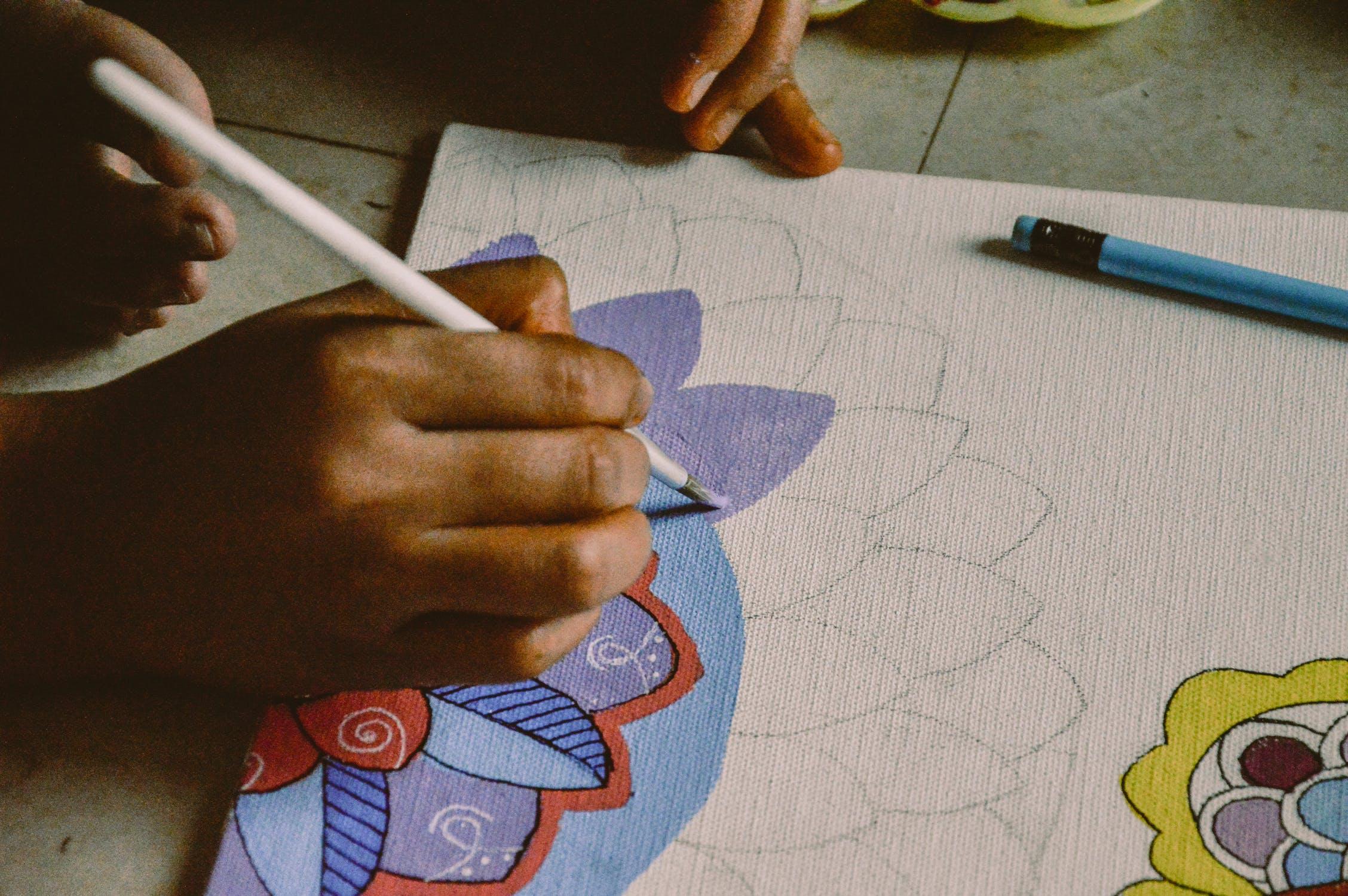 drawing hobby
