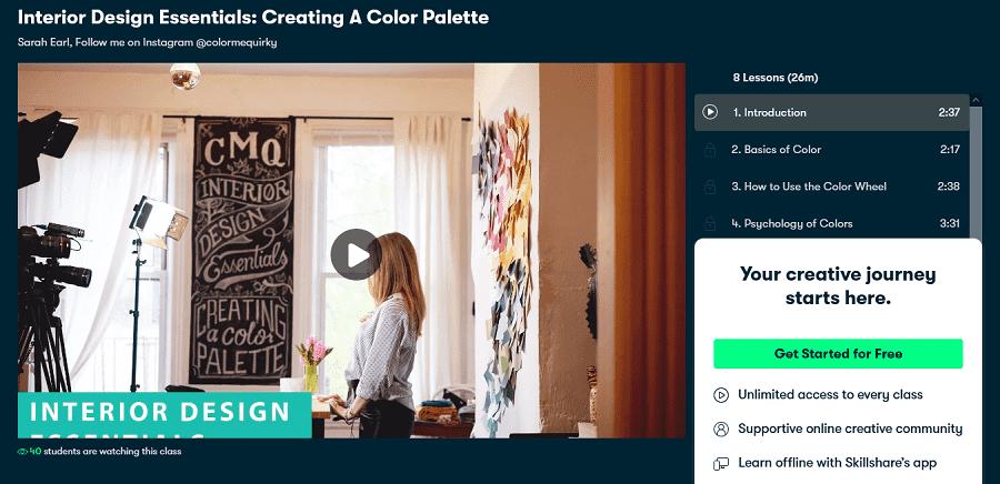 best online courses for interior designing